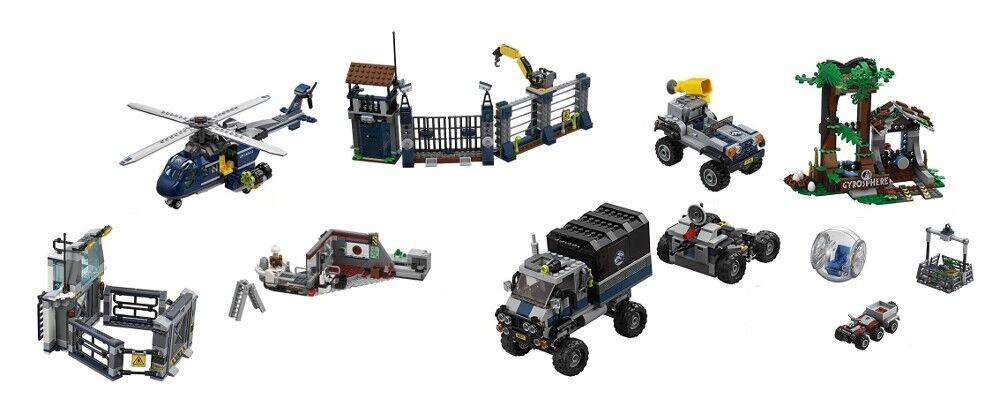 LEGO Jurassic World - 75926 75927 75928 75929 75931 75932 - NO DINO / MINI FIGS