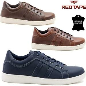 mens redtape leather lace up driving smart casual shoes