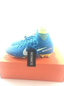 premium selection 45ed2 870c4 Image is loading Nike-Jr-Mercurial-Superfly-V-DF-Neymar-FG-
