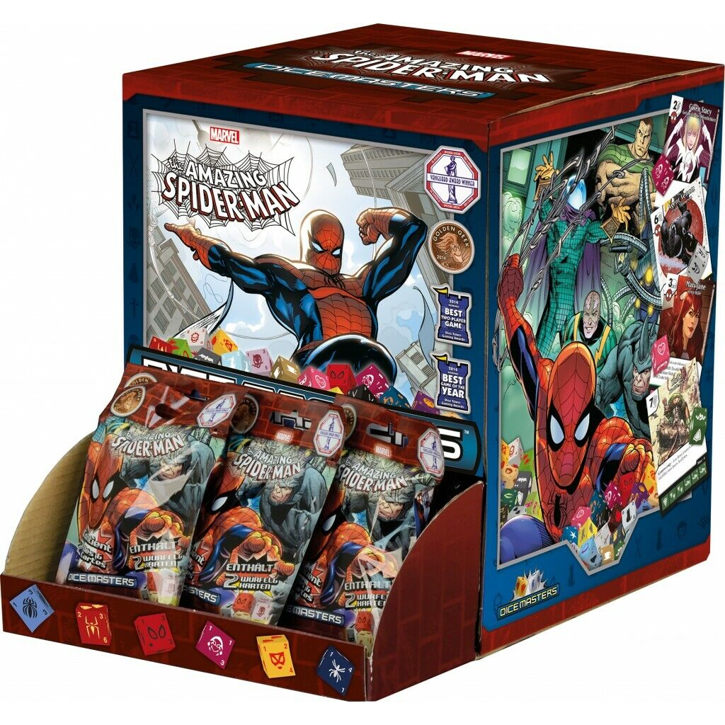 Marvel Dice Masters - The Amazing Spider-Man - 1x Booster Display - DE   VF