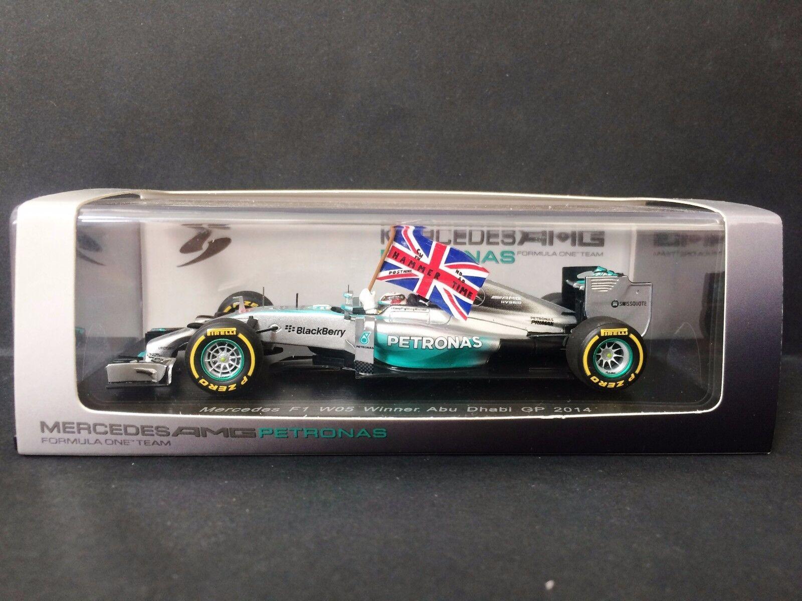 Spark - Lewis Hamilton - Mercedes - W05 - Abu Dhabi GP - 2014 - 1 43 - decals