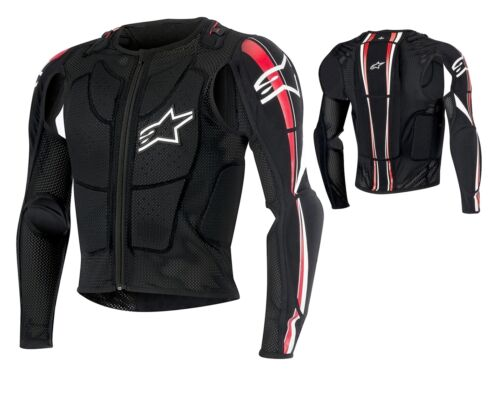 Alpinestars Bionic Plus Protector Jacket BLACK MX MTB Motocross Enduro S-XXL