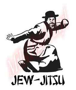 Jew-Jitsu-Jiu-Jitsu-Funny-Humor-Vinyl-Decal-Window-Sticker