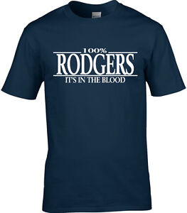 Rodgers Surname Mens T-Shirt 100/% Gift Name Family Cool Fun