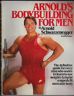 Arnold's Bodybuilding For Men 1984 Softcover - Fine Condition