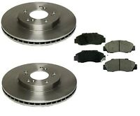Honda Cr-v 97-01 L4 2.0l Front Brake Kit With Pads And Rotors Premium Quality on sale