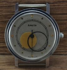 Da uomo raro,Vintage Soviet Russo orologio USSR RAKETA Kopernik Copernic