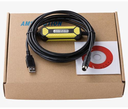 For Mitsubishi Q series PLC data cable USB-QC30R2 connector