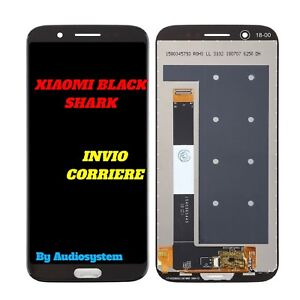 DISPLAY-LCD-TOUCH-SCREEN-XIAOMI-per-BLACK-SHARK-NERO-VETRO-DIGITIZER-SCHERMO