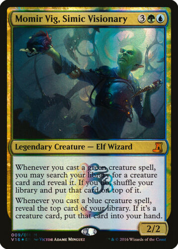 Lore NM-M CARD ABUGames Momir Vig Simic Visionary FOIL From the Vault