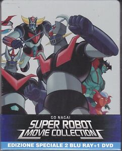 2-Blu-ray-1Dvd-SteelBook-GO-NAGAI-SUPER-ROBOT-MOVIE-COLLECTION-MAZINGA-GOLDRAKE