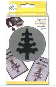 Camping Christmas Cards.Details About Ek Success Large Forest Tree Craft Punch Christmas Cards Winter Camping Scouting