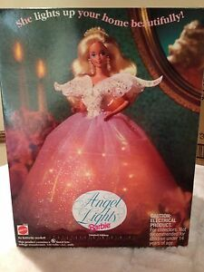 BARBIE-ANGEL-LIGHTS-10610-Limited-Edition-1993-New-in-Box
