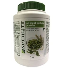 1kg Amway Nutrilite All Plant Protein Cholesterol Lactose Free