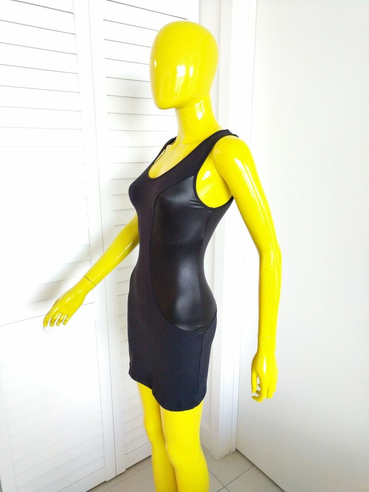 DAVID LERNER Sexy schwarz Dress Größe S NWT Orig Retail