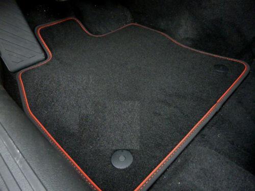 SPORT $$$ Original Lengenfelder Fußmatten passend für VW T-Roc ROT $$$ NEU
