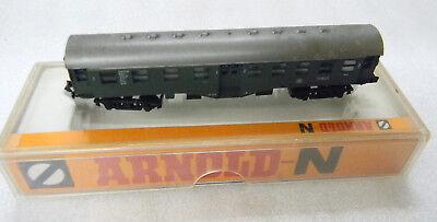 Arnold N 3150 Eilzug Carro Db Colonia Rimodellamento Carrello Verde In Ovp Traccia N 1:160 Classe 1/2-
