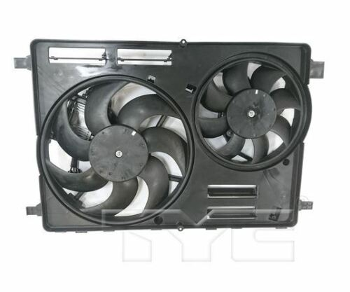 TYC 623840 Rad/&Cond Fan Assy for Volvo XC60 3.0//3.2L 2010-2017 Models