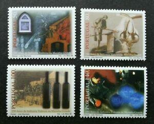 SJ-Portugal-GlasIndustry-Marinha-Grande-1998-Glass-Art-Industry-stamp-MNH