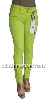 Intellective Pantalone Liu Jo - Bottom Up W14196 - Tg. 43/w29 - Verde Chiaro