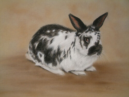 by UK artist RABBIT BOOKMARK 4 Images To Choose From *