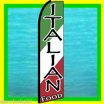 Chinese Food Standard Size  Swooper Flag banner  sign pk of 3