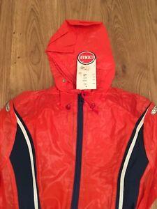 vari colori b8d32 ece63 Dettagli su COLMAR Vintage Kway Antipioggia Giacca Jacket Waterproof Vento  Ski Sci Rarità 42