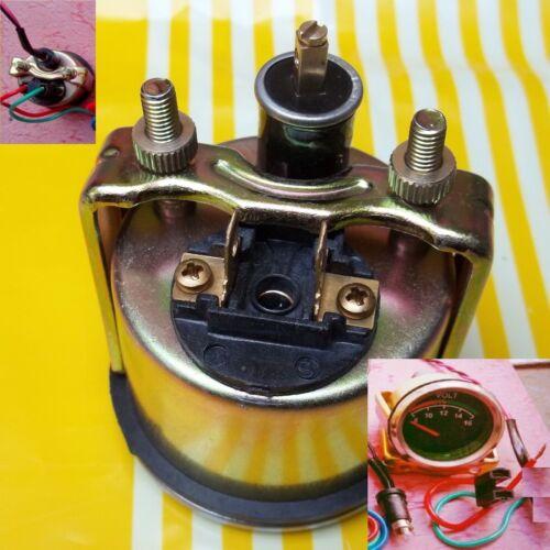 """24V w//wire harness 24 Volt Voltmeter volt gauge 2-1//16/""""// 52mm"""