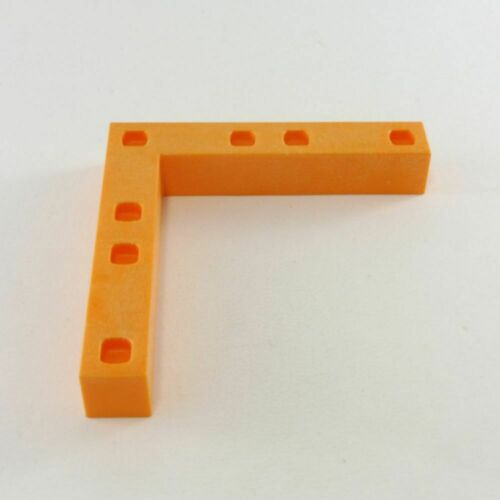 14531 Playmobil Barre de Finition Angle Orange System X 4404 7883