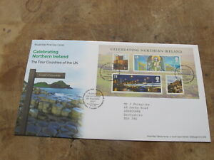 2008-GB-FDC-First-Day-Cover-Celebrating-Northern-Ireland-St-Patrick