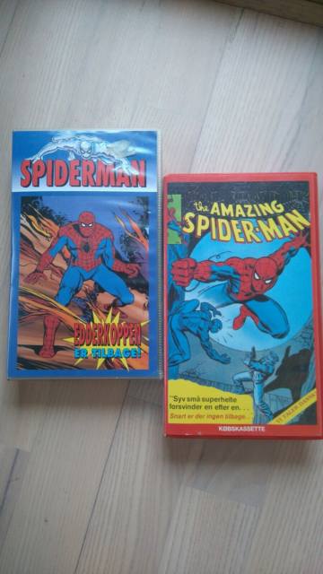 Action, VHS the amazing spider-man, VHS the amazing…