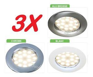 3-x-SPOT-ENCASTRABLE-FIXE-LED-GU10-230V-ECLAIRE-COMME-50W-CHOIX-DE-FINITION