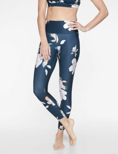 ATHLETA WOMEN/'S 293103 FLORAL ELATION 7//8 TIGHTS PANTS r0543-2051 $89.00 NWT S L