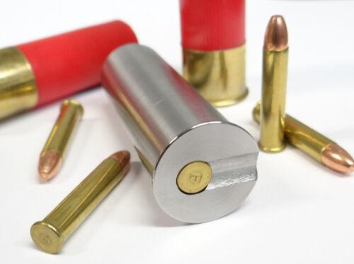 12GA to 22 Magnum Shotgun Adapter Stainless RIFLED BORE Free Shipping!