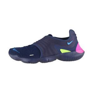 Nike-Free-RN-Flyknit-3-0-blau-Herren-Sneaker-Fitnesschuhe-AQ5707-400