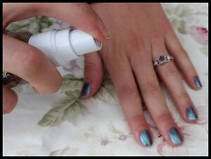 Avon Nail Experts Liquid Freeze Quick Dry Nail Spray Fast Drying Top