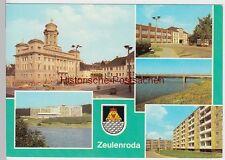 (99522) AK Zeulenroda, Mehrbildkarte, 1986