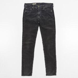 AG-Adriano-Goldschmied-Jegging-Jeans-Super-Skinny-Gray-Corduroy-Women-s-30R-x-32