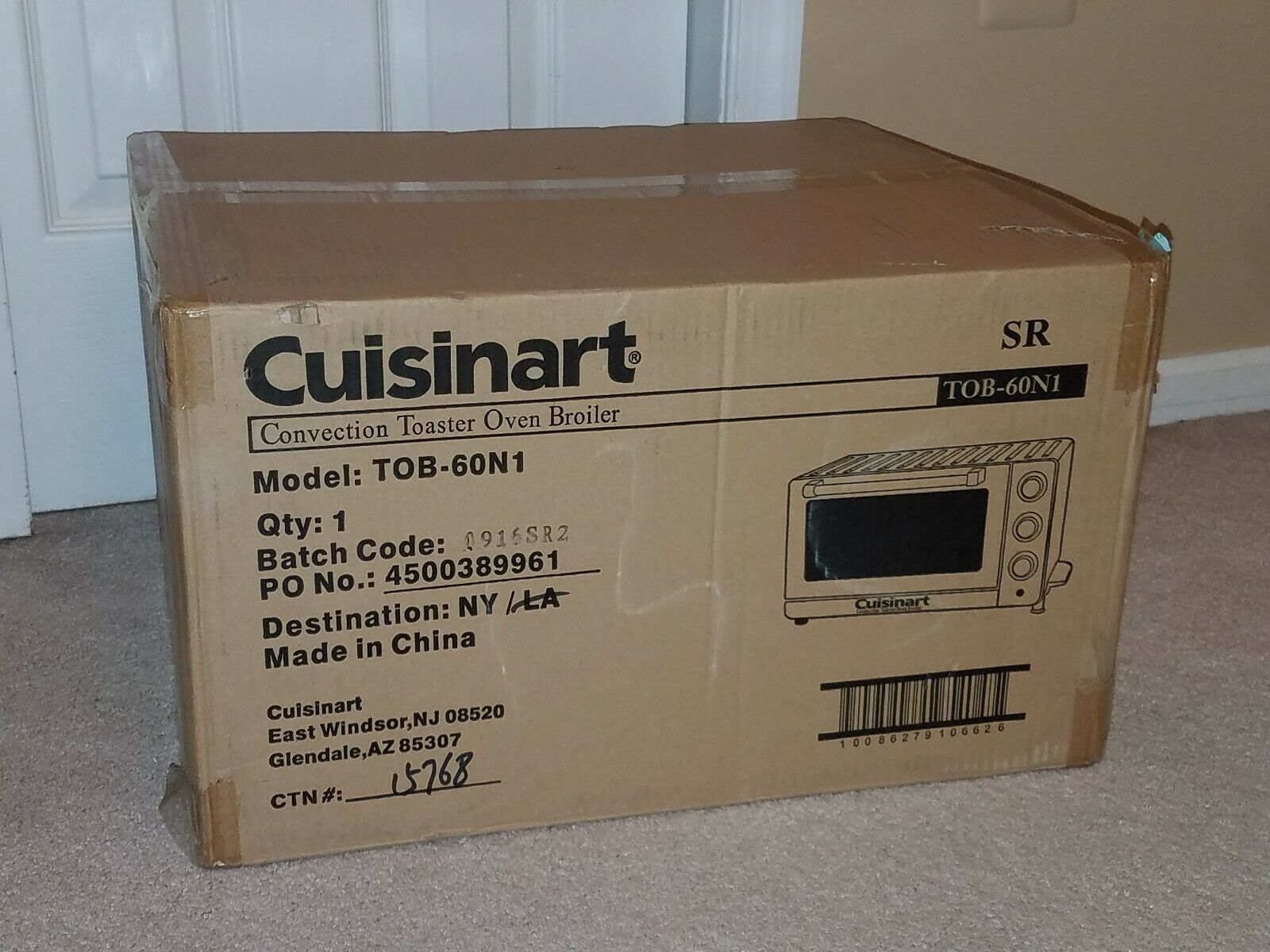 Cuisniart TOB-60N1 Convection Four Grille-pain Broiler