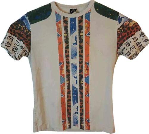 Versace Jeans Couture Mens M T-Shirt Multicolor Be