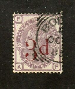 Great-Britain-stamp-94-used-plate-21-Queen-Victoria-SCV-150