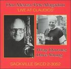 Live at Claudio's by Don Menza/Pete Magadini (CD, Oct-1995, Sackville (Canada))