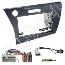 Honda CR-Z ZF1 Doppel 2-DIN Radioblende Blende+ISO Radioadapter Antenne Stecker