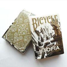 Bicycle Utopia White Gold Poker Spielkarten