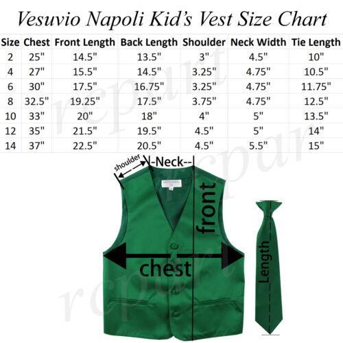 New Kids boys formal tuxedo vest/_necktie /& bowtie Gray US 2 4 6 8 10 12 14