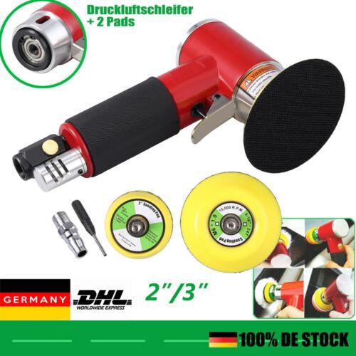 50//75mm Mini Druckluft Excenterschleifer Exzenter Schleifer Spot-Repair Polierer