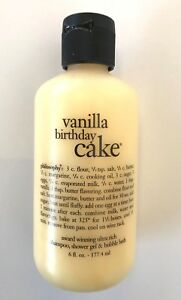 Image Is Loading Philosophy VANILLA BIRTHDAY CAKE SHAMPOO SHOWER GEL Amp