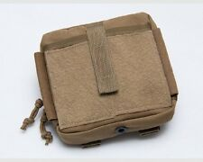 "MSM / TACTICAL TAILOR Organizer Pouch + TWO 5"" Malice Clips / Marine Coyote"