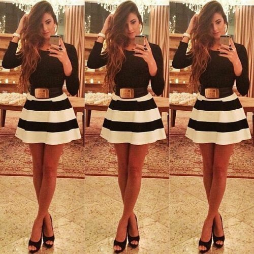 Women's Bandage Bodycon Lace Long Sleeve Evening Sexy Party Cocktail Mini Dress