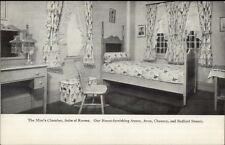 Boston MA Jordan MA Suite of Rooms Miss's Chamber  c1905 Postcard